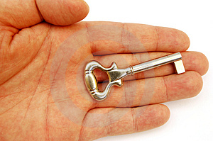 Holding Key #5 Royalty Free Stock Photography - Image: 668437