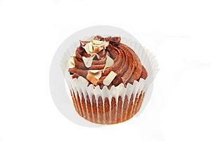 Chocolate Cup Cake Stock Image - Image: 6602251