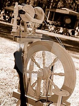 Spinning Wheel Stock Photos - Image: 6602693