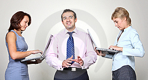 Business colleagues Free Stock Image