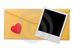 Envelope And Instant Photo Stock Photo - Image: 6603230