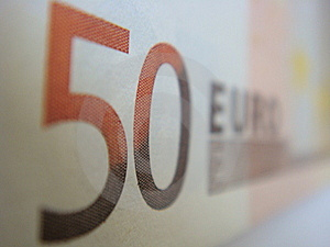 Fifty Euro Royalty Free Stock Image - Image: 6603706