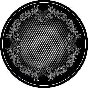 Black Frame Stock Image - Image: 6604311