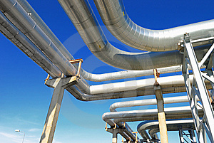Industrial Pipelines Stock Images - Image: 6610854