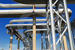 Industrial Pipelines Stock Photography - Image: 6610872