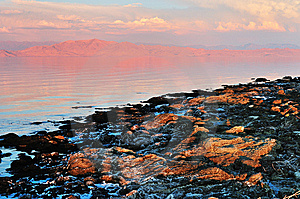 The Great Salt Lake Royalty Free Stock Photography - Image: 6613727
