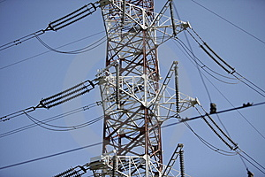 Power Lines Stock Images - Image: 6615814