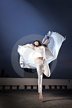 Descending Angel 6 Royalty Free Stock Photography - Image: 6616907