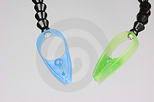 Plastic Clamps Stock Photography - Image: 6617992
