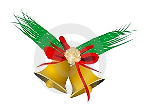Christmas Jingle Bells Royalty Free Stock Images - Image: 6619379