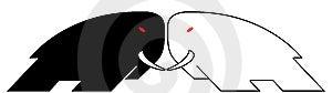 Elephant Logo Stock Image - Image: 6619391