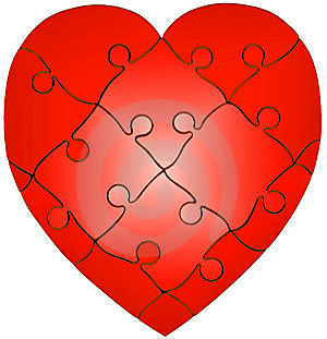 Heart Puzzle Stock Images - Image: 6622574
