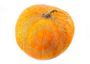 Big Beautiful And Useful Orange Pumpkin Royalty Free Stock Photos - Image: 6627448
