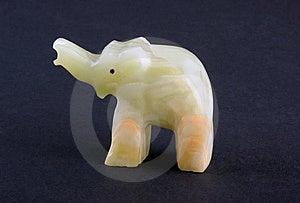 Onyx Elephant Royalty Free Stock Image - Image: 6628566
