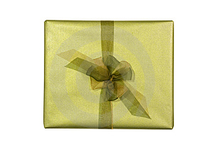 Wrapped Present Stock Image - Image: 6630191