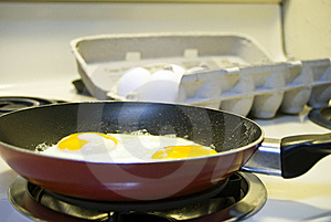Fried Eggs Stock Photography - Image: 6631382