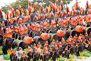 Chicken Army Royalty Free Stock Images - Image: 6633049