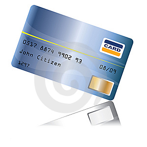 Creditcard With Reflection Royalty Free Stock Photo - Image: 6633465