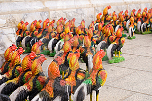 Chicken Army Royalty Free Stock Image - Image: 6633506
