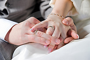Hands And Rings Stock Photos - Image: 6634893