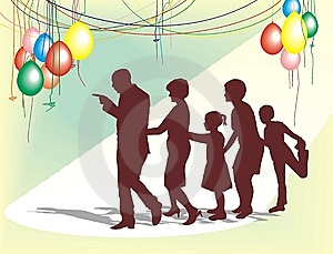 De Familieviering Stock Foto - Afbeelding: 6634990