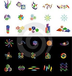 30 Logo 2 Stock Photography - Image: 6637032
