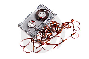 Old Cassette Music And Box. Royalty Free Stock Photography - Image: 6637337