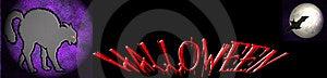 Halloween Banner Stock Image - Image: 6638101