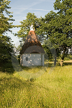 Summerhouse In The Meadow Stock Photo - Image: 6638290