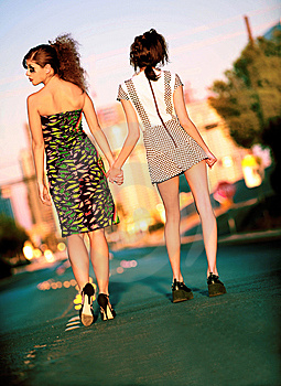 City Girls Royalty Free Stock Photo - Image: 6638965