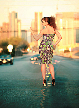 City Woman Stock Image - Image: 6639021