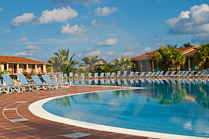 Resort Pool Royalty Free Stock Photo - Image: 6639625