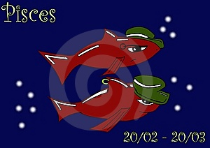 Pisces Royalty Free Stock Photo - Image: 6639755