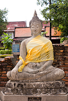 Buddha Statua Obraz Royalty Free - Obraz: 6640806