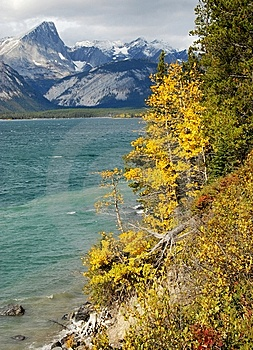Upper Lake In Autumn Royalty Free Stock Image - Image: 6640966