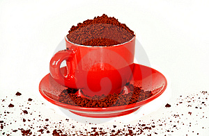 Cup Of Instant Coffee Stock Photos - Image: 6642453