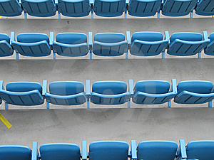 Plastic Chairs Ready For Event Royalty Free Stock Photography - Image: 6642707
