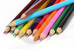 Color Pencils Royalty Free Stock Images - Image: 6643279