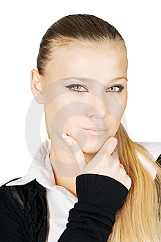 Serious Business Lady Stock Images - Image: 6647004