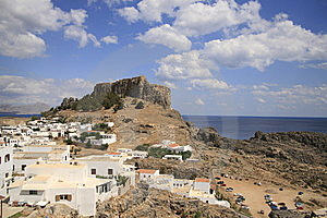 Lindos Vacation Destination Royalty Free Stock Image - Image: 6647856