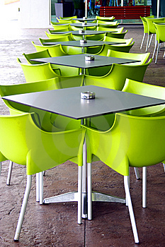 Tables And Chairs Royalty Free Stock Image - Image: 6652086