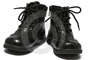 Children's Boots Royalty Free Stock Images - Image: 6652589