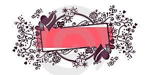 Valentine's Frame Stock Photo - Image: 6654280