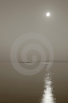 Moonrise Royalty Free Stock Photography - Image: 6657697