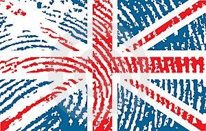 Flag Of United Kingdom Stock Image - Image: 6659371