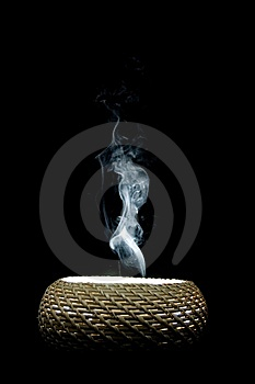 Head Shaped Smoke Cloud Stock Photo - Image: 6659950