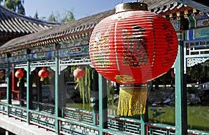 Red Lantern Royalty Free Stock Photo - Image: 6660325