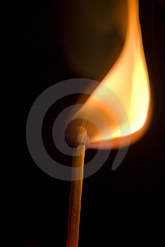 Burning Match Stock Photos - Image: 6663233