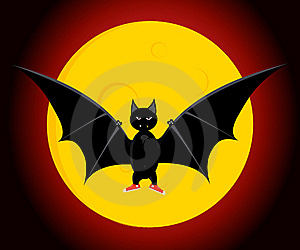 The Bat Royalty Free Stock Photography - Image: 6663977