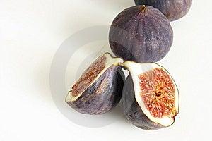 Three Fresh Figs Stock Photo - Image: 6666250